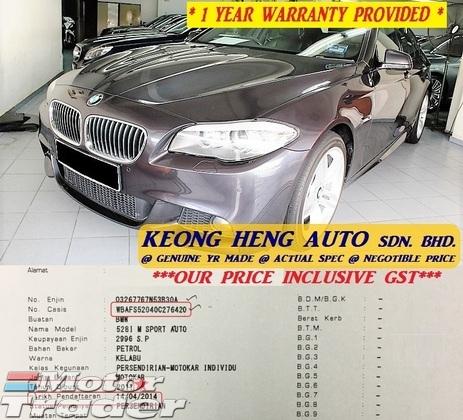 2011 BMW F10 528i 3.0 MSPORT